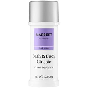 Marbert - Bath & Body - Crema deodorante