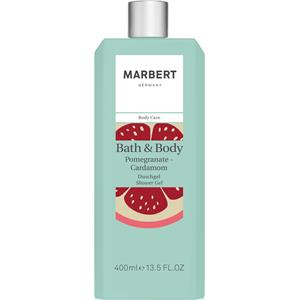 Marbert Pflege Bath & Body Granatapfel-Kardamom Shower Gel 400 ml