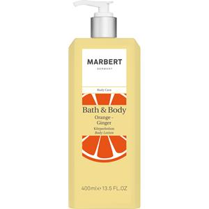 Marbert Pflege Bath & Body Orange-Ingwer Body Lotion 400 ml