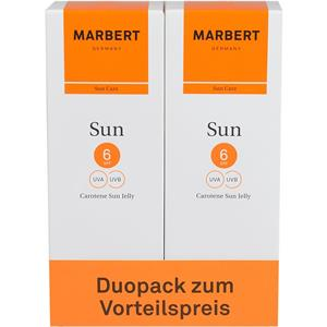 Marbert - SunCare - Carotene Sun Jelly Duo Pack SPF 6