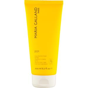 Maria Galland - Sun care - Protective Care for Face and Body 201 (SPF 15)