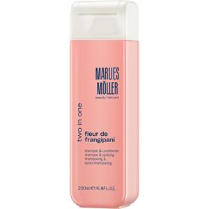 Marlies Möller - Softness - Two in One Fleur de Frangipani - Shampoo & Conditioner