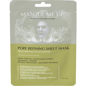 Masque Me Up - Gesichtspflege - Pore Refining Sheet Mask