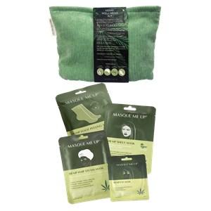 Masque Me Up - Body care - Hemp Wellness Kit Green
