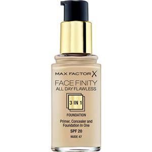 Max Factor - Kasvot - All Day Flawless 3 in 1 Foundation