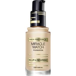 Max Factor - Ansigt - Miracle Match Foundation