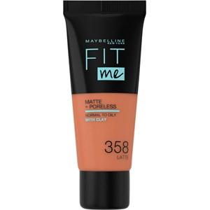 Maybelline New York - Foundation - Fit Me! Matte + Poreless Foundation