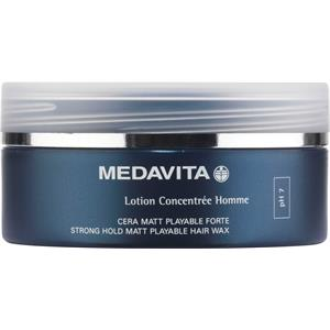 Medavita - Lotion Concentrée Homme - Strong Hold Matt Playable Hair Wax