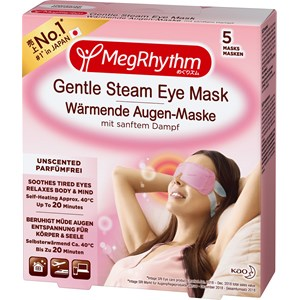 MegRhythm - Augenpflege - Gentle Steam Eye Mask Unscented