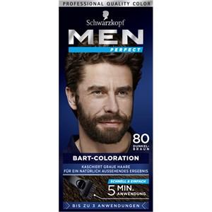 Men Perfect - Coloration - Bart-Coloration 80 Natur Schwarz Braun