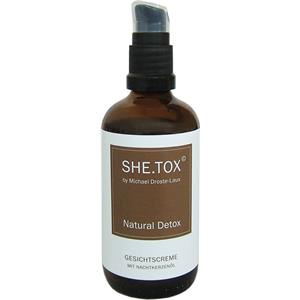 Image of Michael Droste-Laux SHE.TOX Natural Detox Gesichtscreme 100 ml
