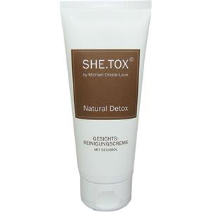 Image of Michael Droste-Laux SHE.TOX Natural Detox Gesichtsreinigungscreme 100 ml