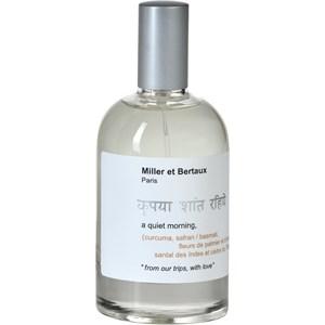 Miller et Bertaux - A quiet Morning - Eau de Parfum Spray