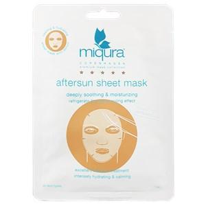 Miqura - Golden Silk Collection - Aftersun Sheet Mask White
