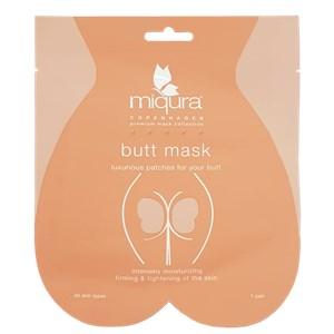 Miqura - Golden Silk Collection - Butt Mask Orange
