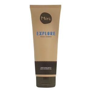 Miro - Explore - Perfumed Bath & Shower Gel