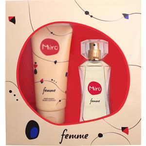 Image of Miro Damendüfte Femme Geschenkset Eau de Parfum 50 ml + 100 ml Bodylotion 1 Stk.