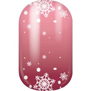 Miss Sophie's - Nail Foils - Nail Wraps Icy Pink