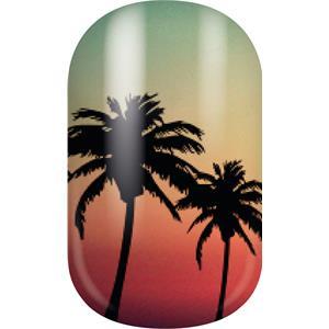 Miss Sophie's - Nail Foils - Nail Wraps LA Sunset
