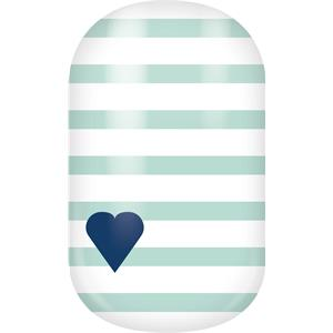 Miss Sophie's - Nail Foils - Nail Wraps Mint Love