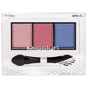 Misslyn - Lidschatten - High Shine Trio Eyeshadow
