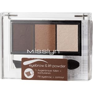 Misslyn - Augenbrauen - Eyebrow & Lift Powder