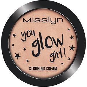 Misslyn - Contouring & Strobing - You Glow Girl Strobing Cream