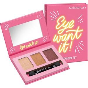 Misslyn - Lidschatten - Eye Want It! Eyeshadow Set 34