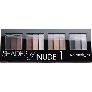 Misslyn - Lidschatten - Shades Of Nude 1 Eyeshadow Studio