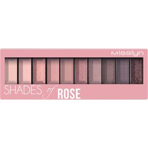 Misslyn - Ombretto - Shades Of Rose Must-have Eyeshadowpalette