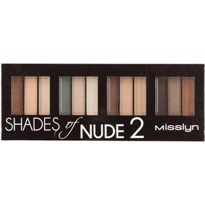 Misslyn - Lidschatten - Shades of Nude 2 Eyeshadow Studio