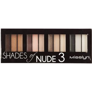 Misslyn - Lidschatten - Shades of Nude 3 Eyeshadow Studio