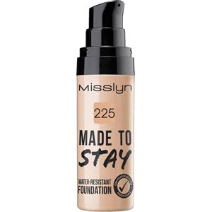 Misslyn - Make-Up - Made To Stay Water-Resistant Foundation