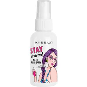 Misslyn - Make-up - Stay with me! Matte Fixing Spray