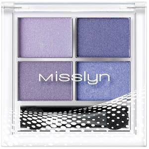 Misslyn - Mascara - Quattro Eyeshadow