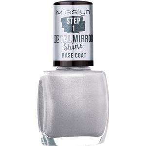 Misslyn - Nagellack - Metal Mirror Shine Base Coat