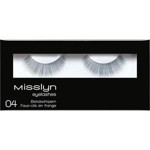 Misslyn - Wimpern - Eyelashes 04