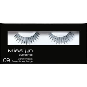 Misslyn - Wimpern - Eyelashes 09
