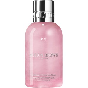Molton Brown - Hand Sanitiser - Delicious Rhubarb & Rose Hand Sanitiser Gel