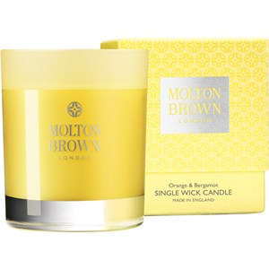 Molton Brown - Kerzen - Orange & Bergamot Single Wick Candle