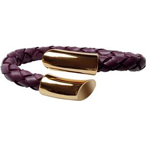 Moov Street - Classic Gold Collection - Armband Violett