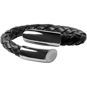 Moov Street - Classic Steel Collection - Armband Poliert Schwarz