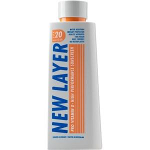 NEW LAYER - Sun Cream - Pro Vitamin D High Performance Sunscreen SPF 20