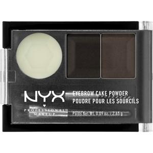 NYX Professional Makeup - Augenbrauen - Eyebrow Cake Powder