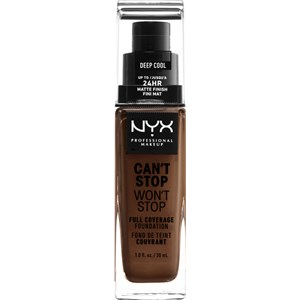 NYX Professional Makeup - Foundation - Can't Stop Won't Stop Foundation