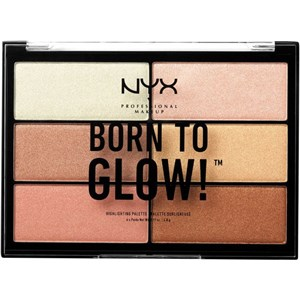 NYX Professional Makeup - Highlighter - Born To Glow Highlighter Palette