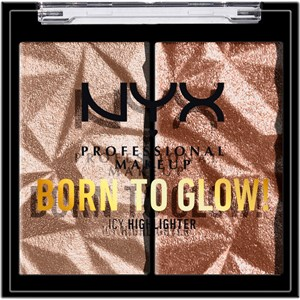 NYX Professional Makeup - Highlighter - Born To Glow Icy Highlighter Duo