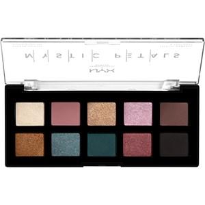 NYX Professional Makeup - Lidschatten - Dark Mystic Mystic Petals Shadow Palette