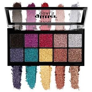 NYX Professional Makeup - Lidschatten - Glitter Goals Cream Pro Palette