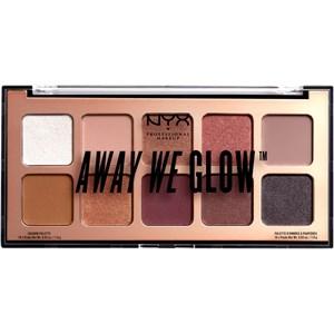 NYX Professional Makeup - Lidschatten - Lovebalm Away We Glow Shadow Palette